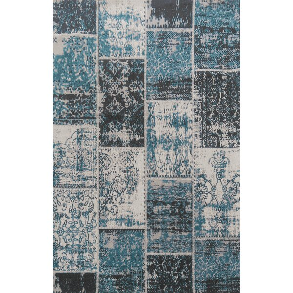 Superior Brighton Blue Area Rug by Simple Luxury