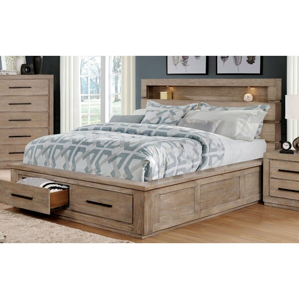 Jeffers Storage Platform Bed by Rosecliff Heights