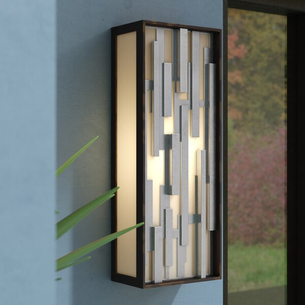 Augustine Outdoor Flush Mount by Wade Logan