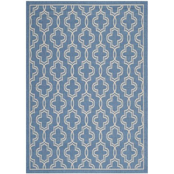 Martha Stewart Beige/Blue Area Rug by Martha Stewart Rugs