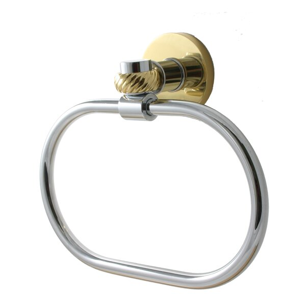 Continental Wall Mounted Towel Ring by Allied Brass