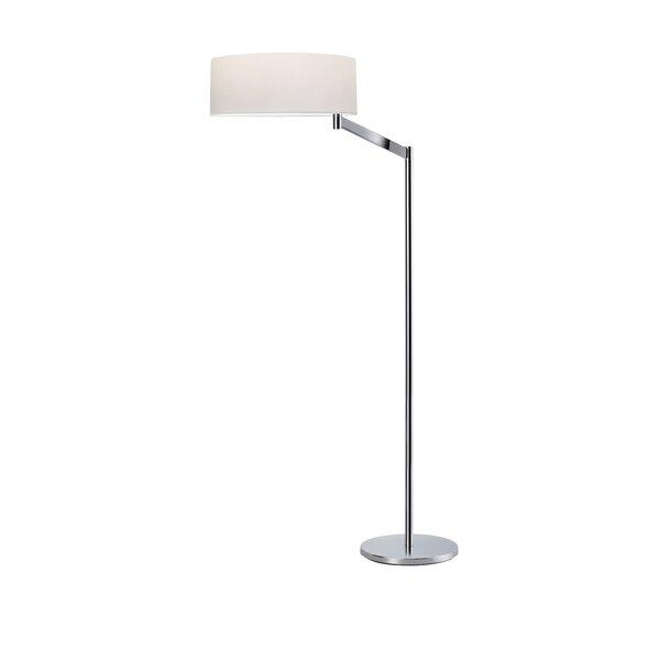 Perch 49.5 Swing Arm Floor Lamp by Sonneman