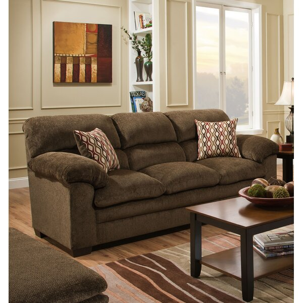Modern Derry Sofa by Simmons Upholstery by Alcott Hill by Alcott Hill