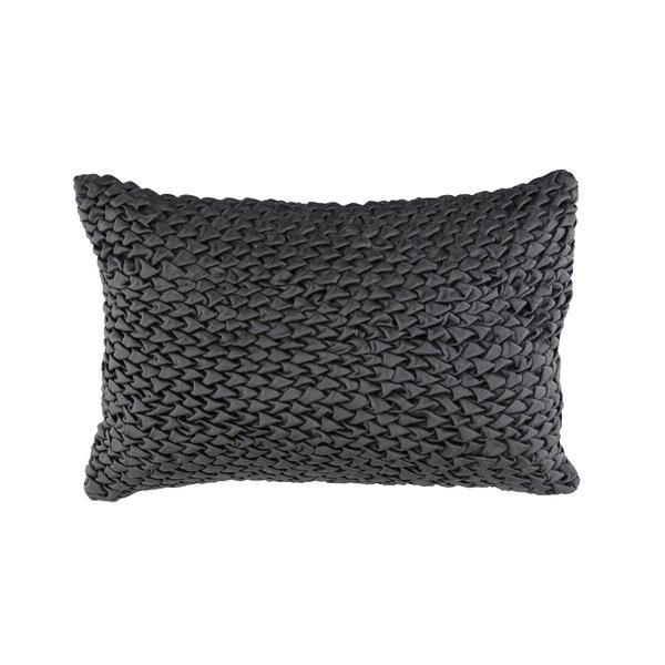 Adhara Modern Velvet Throw Pillow by Mercer41