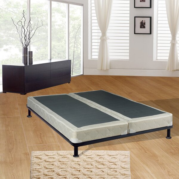 Queen Split Wood Box Spring by Spinal Solution