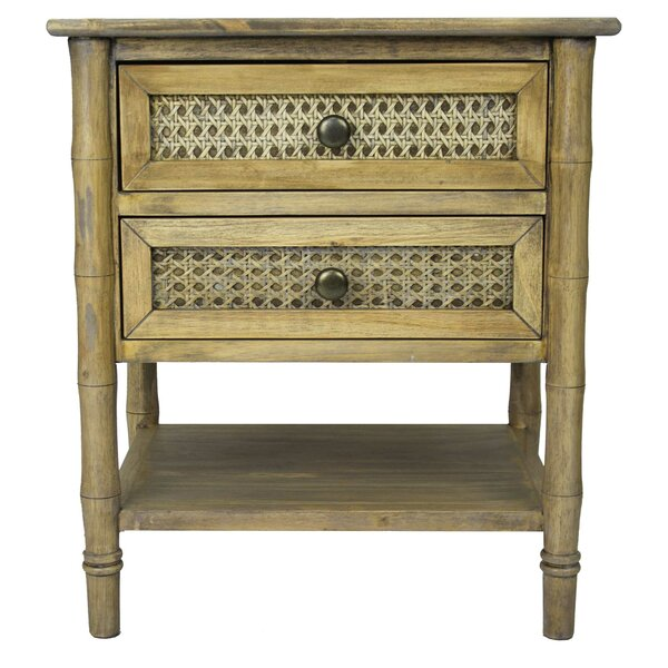 Eucptus End Table With Storage By Bay Isle Home