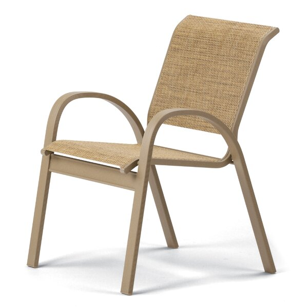 Aruba II Stacking Patio Dining Chair (Set of 4) by Telescope Casual