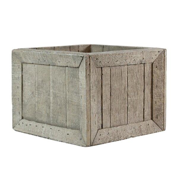 Longcroft Wharf Crates Cement Planter Box by Breakwater Bay