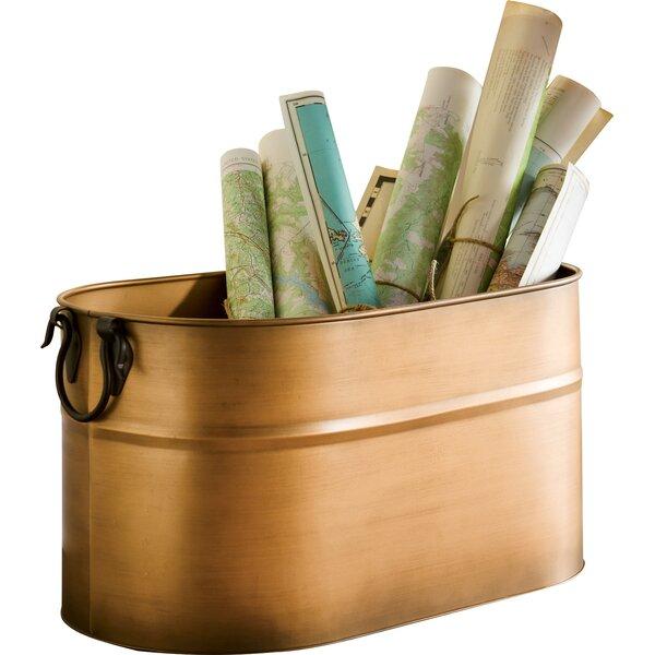 1 Firewood Bucket Log Rack By Plow & Hearth