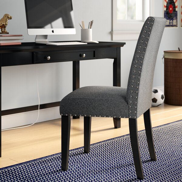 Huebert Upholstered Dining Chair by Charlton Home