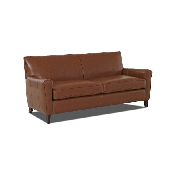 Gormley Leather Sofa By Klaussner Furniture