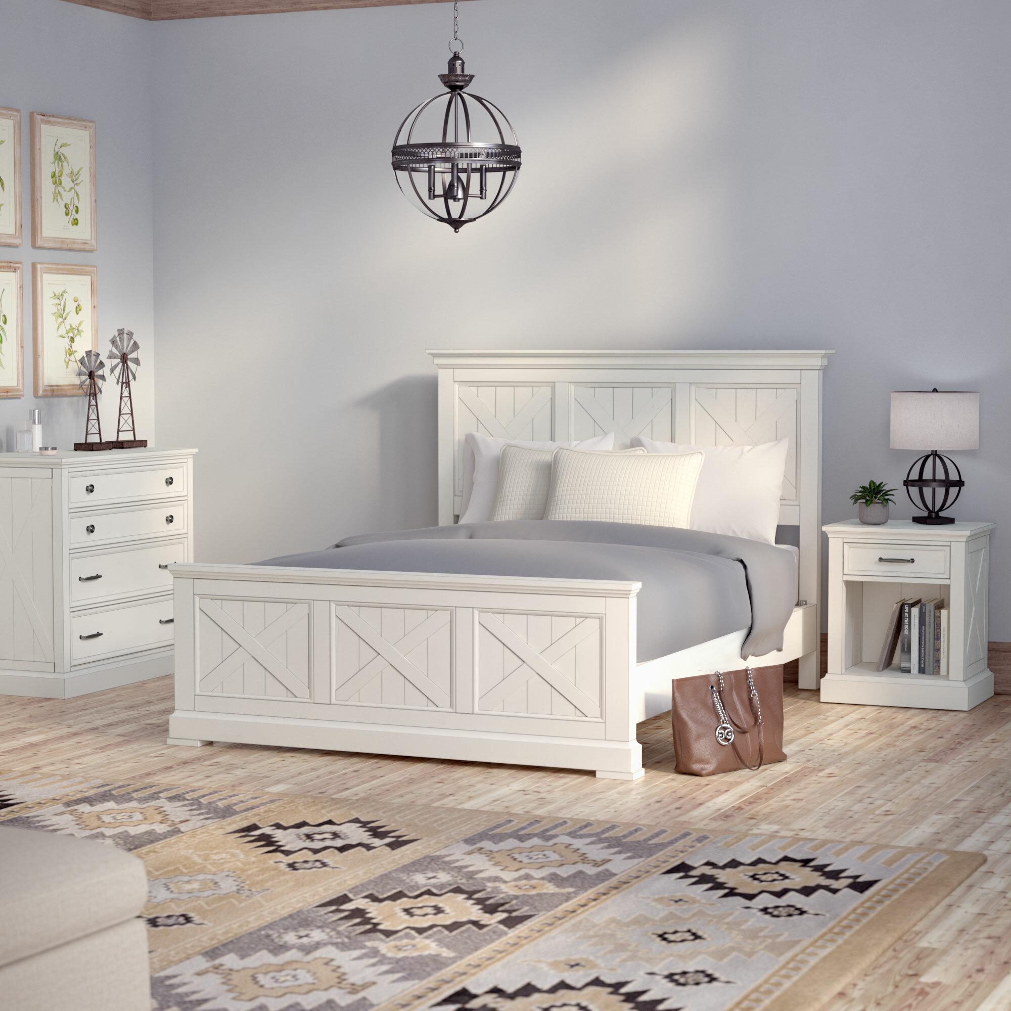 Birch Lane Lizotte Solid Wood Standard 3 Piece Bedroom Set Reviews Wayfair