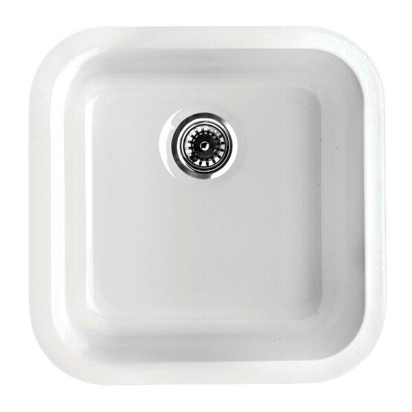 Elementhaus 18.25 L x 18 W Square Drop-In/Undermount Kitchen Sink by Whitehaus Collection