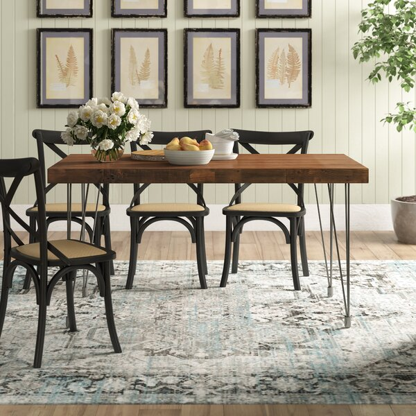 Okemah Solid Wood Dining Table by Trent Austin Design Trent Austin Design