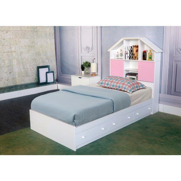 Beckner Luxurious Chest Full Storage Platform Bed by Harriet Bee