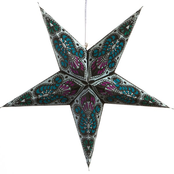 Peacock Paper Star Light by Hometown Evolution, Inc.