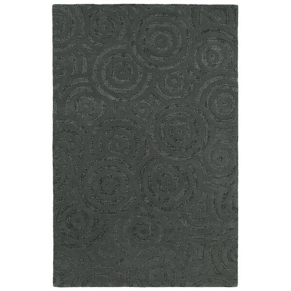 Stallkamp Hand-Tufted Wool Charcoal Area Rug by Orren Ellis