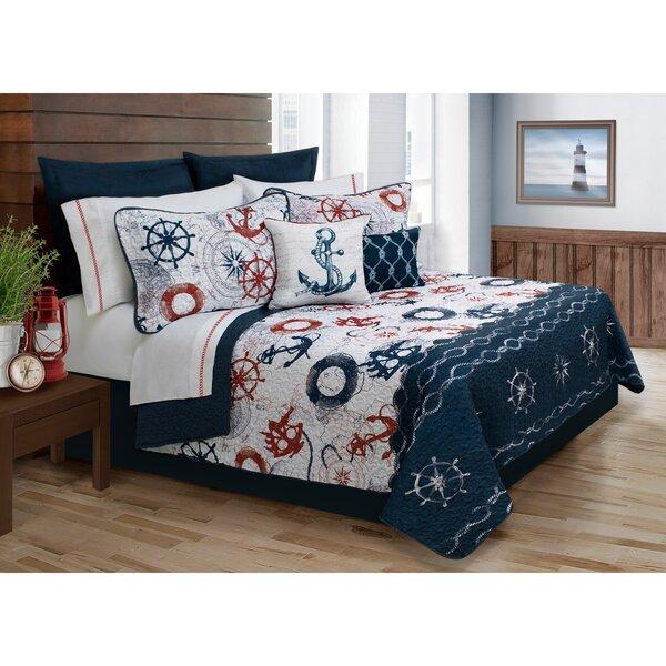 Avaline 5 Piece Quilt Set by Beachcrest Home
