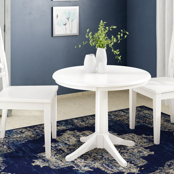 Gilberton Solid Wood Dining Table by Charlton Home