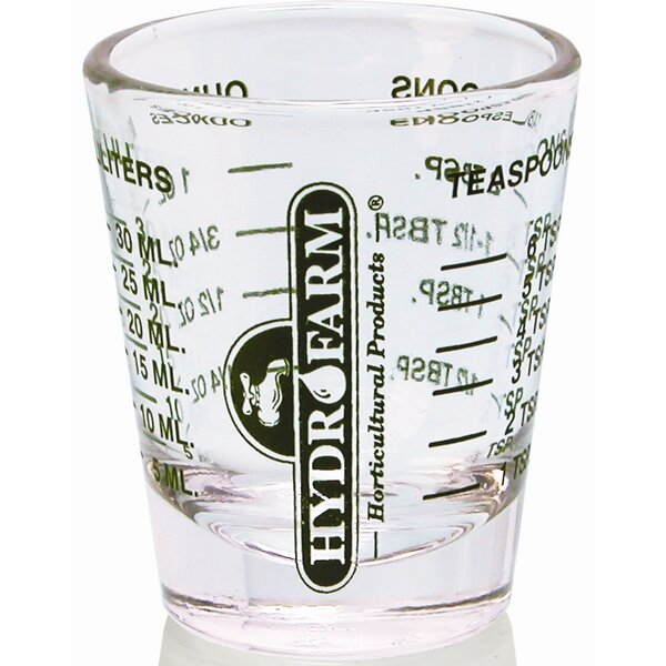Mini Measure Shot Glass (12-Pack) (Set of 12) by Hydrofarm