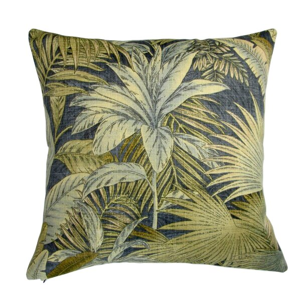 Lackey Palm Leaves Indoor/Outdoor Throw Pillow (Set of 2) by Bayou Breeze