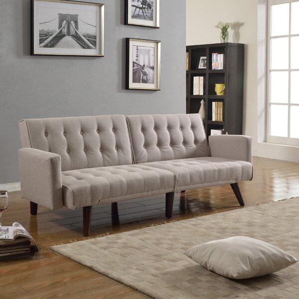 Kaylynn Mid Century Convertible Sofa by Langley Street