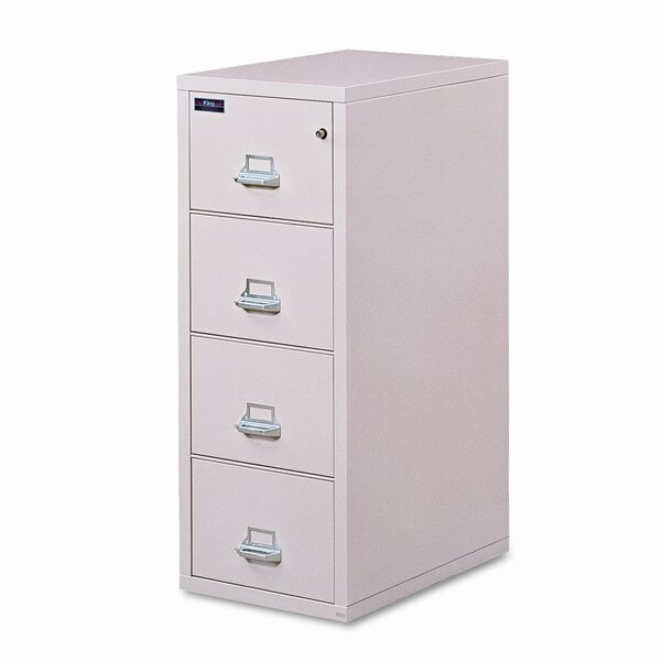 Fireproof Insulated 4-Drawer  File by FireKing