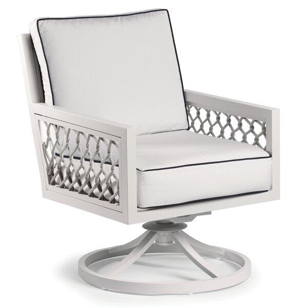 Echo Bay Swivel Patio Chair with Sunbrella Cushions by Eddie Bauer Eddie Bauer