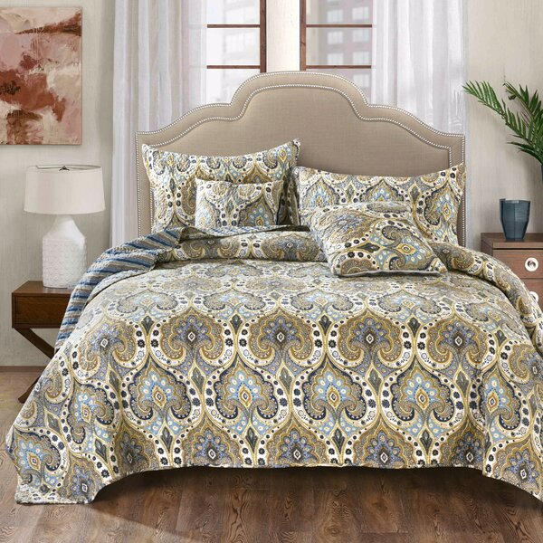 Hester Quilted Coverlet Bedspread Set by Alcott Hill