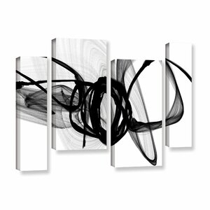 That Energy 4 Piece Graphic Art on Wrapped Canvas Set by Wade Logan