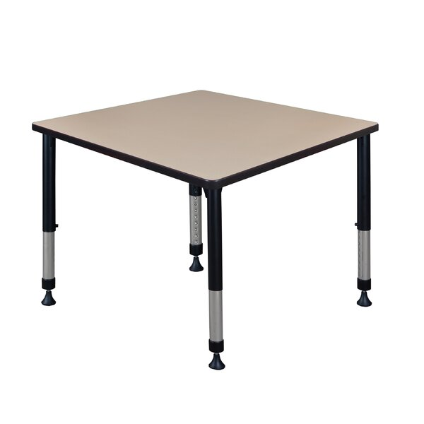 Leiser Height Adjustable 42 Square Activity Table by Symple Stuff