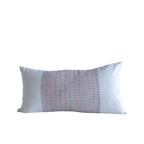 Fava Accents Cotton Lumbar Pillow by Ebern Designs