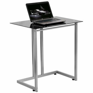 Wheless Tempered Glass Standing Desk