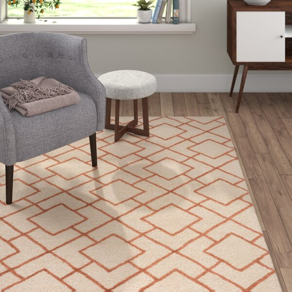Berkeley Khaki/Beige Area Rug by Langley Street