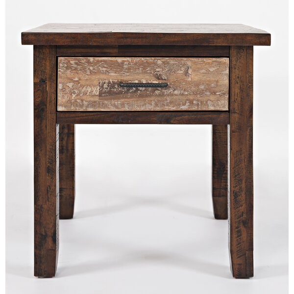 Heritage Hill End Table by Loon Peak