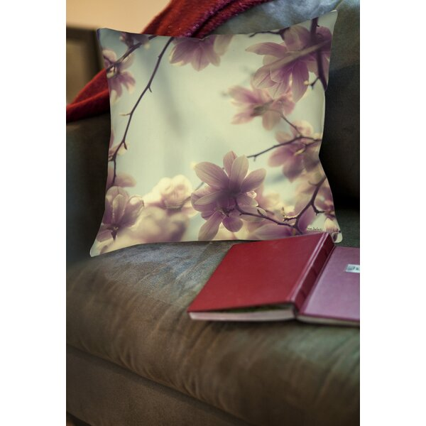 Daydream Believers Printed Throw Pillow by Manual Woodworkers & Weavers