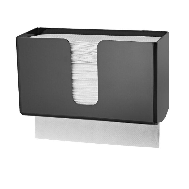 Paper Towel Napkin Dispenser Holder Display Multi fold Clear Acrylic Lot of 4