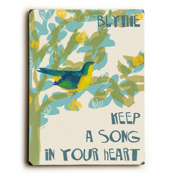 Song in Your Heart Vintage Advertisement by Artehouse LLC