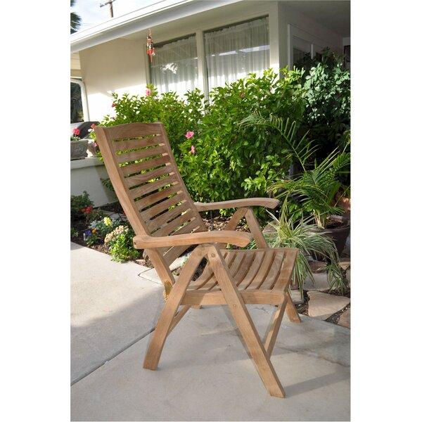 Bowe Teak Patio Chair by Freeport Park