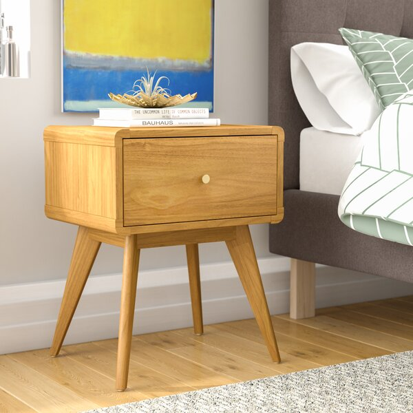 Aspen 1 Drawer Nightstand by Modern Rustic Interiors
