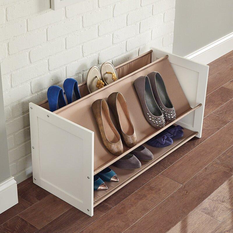 multilevel 3tier 12 pair stackable shoe rack