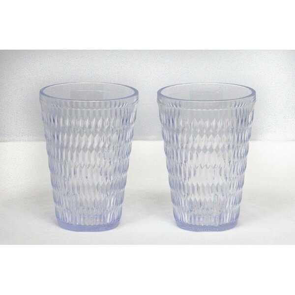 Middlet Beverage 14 oz. Plastic/Acrylic Every Day Glasses (Set of 6) by Highland Dunes