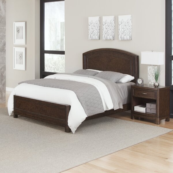 Crescent Hill Standard 2 Piece Bedroom Set by Home Styles