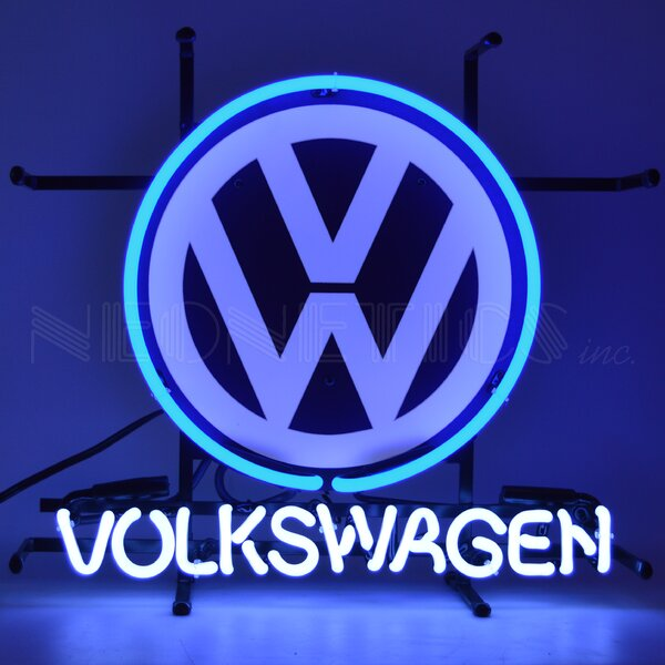 Volkswagen Junior Wall Light by Neonetics
