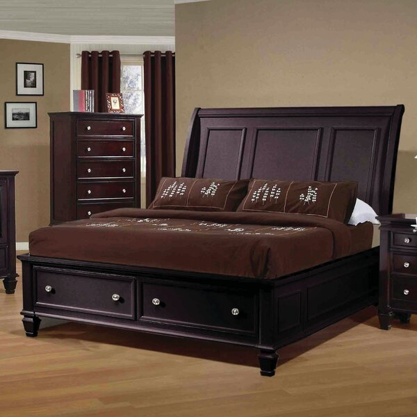 Cianchette Storage Sleigh Bed by Red Barrel Studio