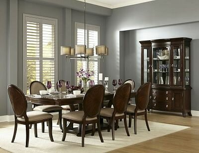 Nona 9 Piece Dining Set by Canora Grey