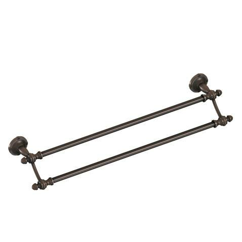 Gilcrest Double 24 Wall Mounted Towel Bar by Moen