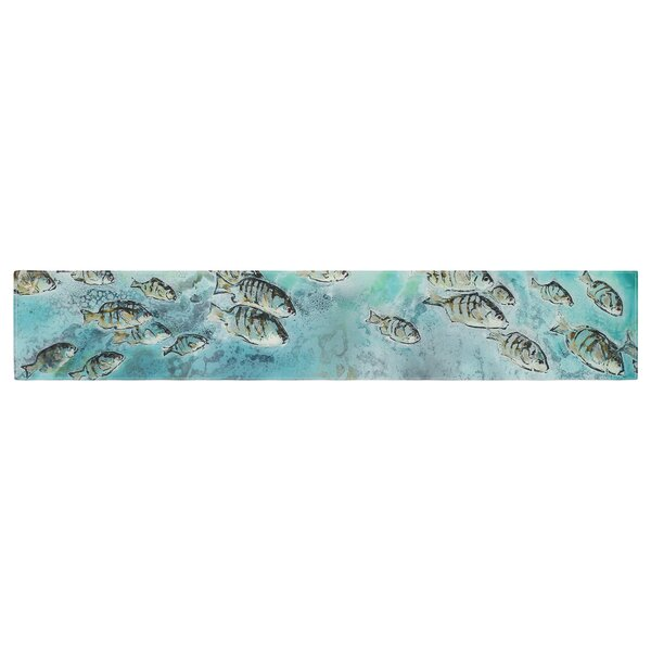 Josh Serafin Surf Perch Table Runner by East Urban Home