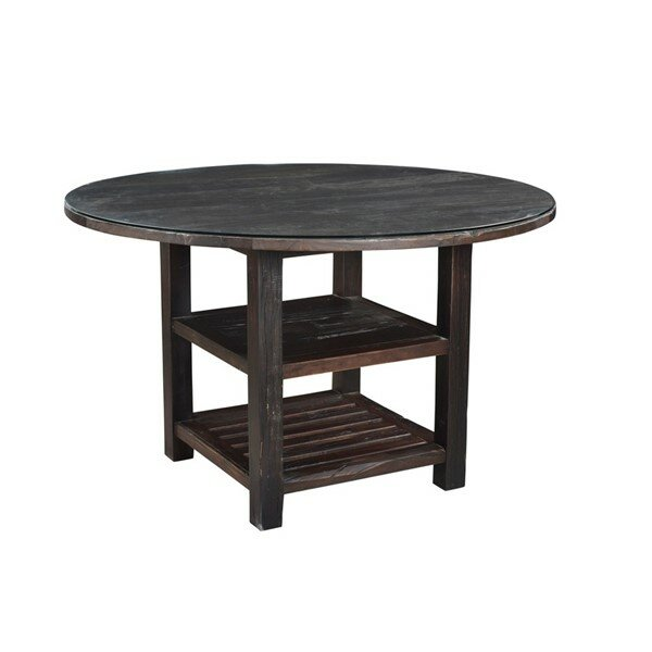 Alexander Solid Wood Dining Table by Loon Peak