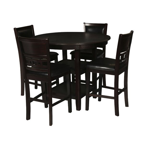 Jackins 5 Piece Pub Table Set by Winston Porter
